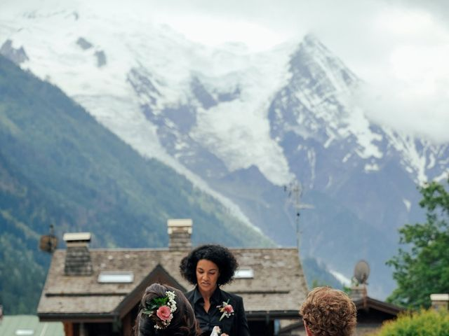 Le mariage de Peter et Angélique à Chamonix-Mont-Blanc, Haute-Savoie 27