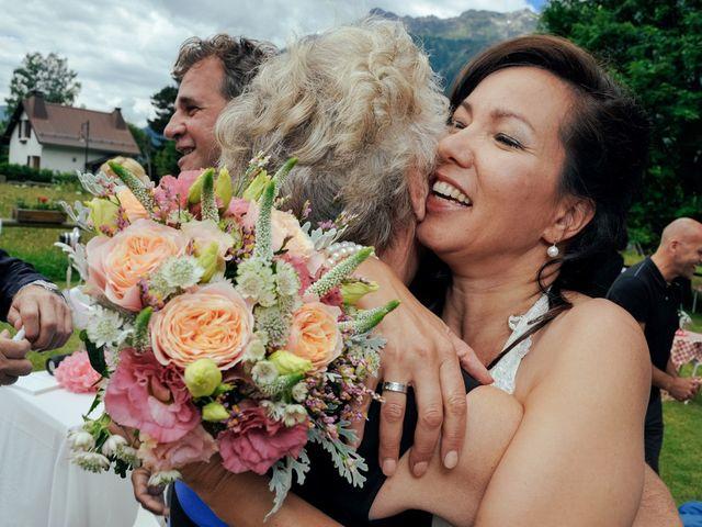 Le mariage de Peter et Angélique à Chamonix-Mont-Blanc, Haute-Savoie 42