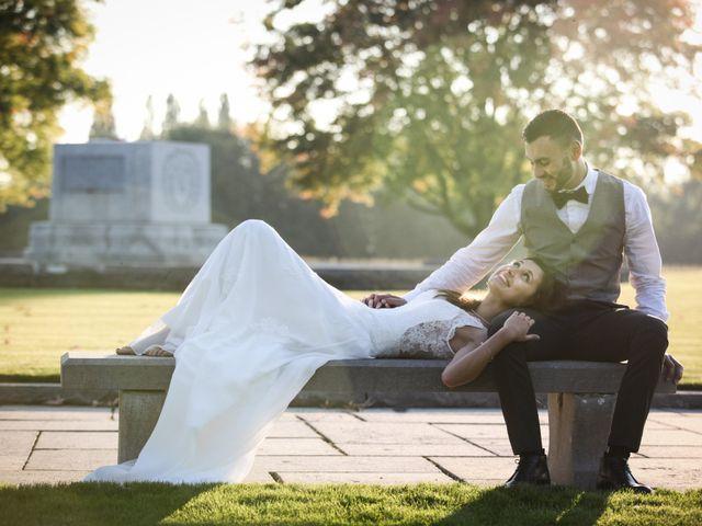 Le mariage de Simon et Sarah à Comines, Nord 42
