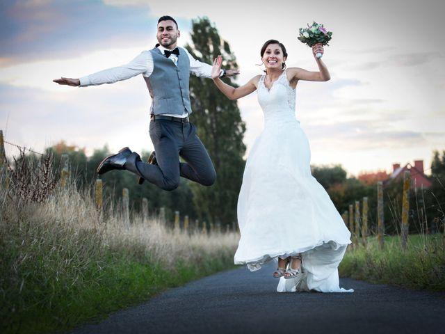Le mariage de Simon et Sarah à Comines, Nord 34