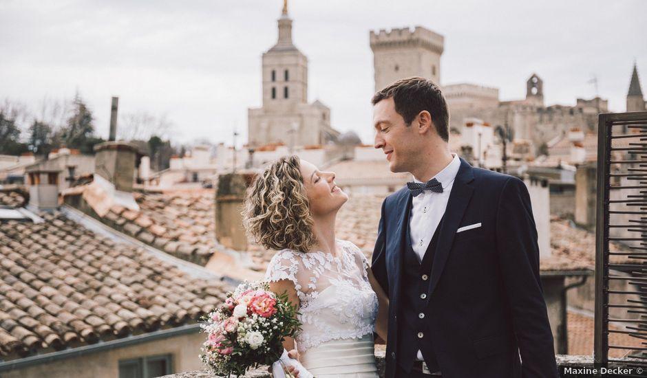 Le mariage de Mickael et Anne à Avignon, Vaucluse