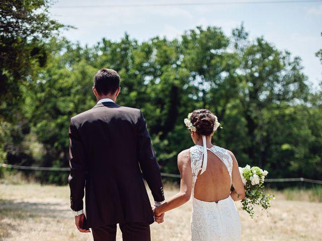 Le mariage de Benjamin et Valentine à Grignan, Drôme 23