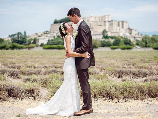 Le mariage de Benjamin et Valentine à Grignan, Drôme 26