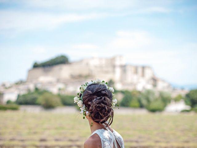 Le mariage de Benjamin et Valentine à Grignan, Drôme 27