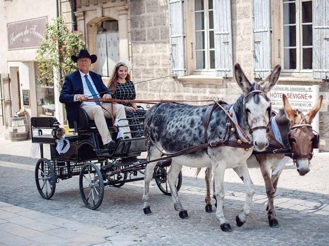 Le mariage de Benjamin et Valentine à Grignan, Drôme 28