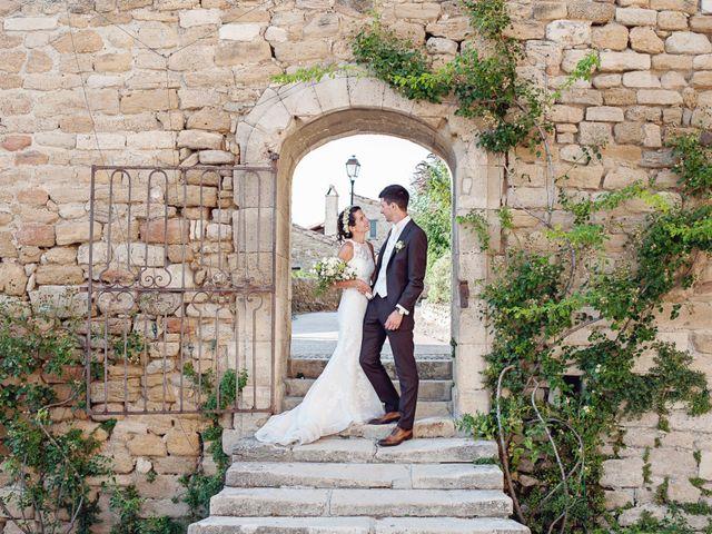 Le mariage de Benjamin et Valentine à Grignan, Drôme 42