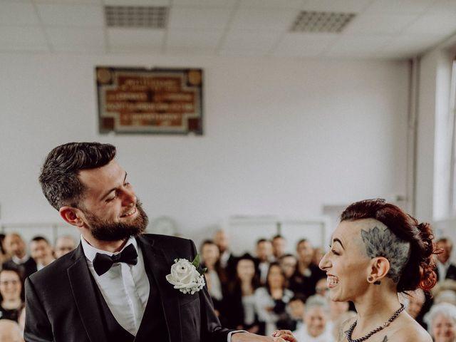 Le mariage de David et Cristina à Courson-Monteloup, Essonne 93