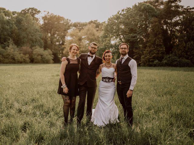 Le mariage de David et Cristina à Courson-Monteloup, Essonne 142