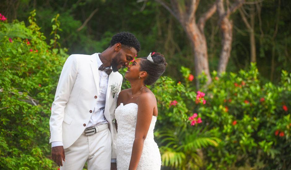 Le mariage de Loic et Aurelie à Le Diamant, Martinique