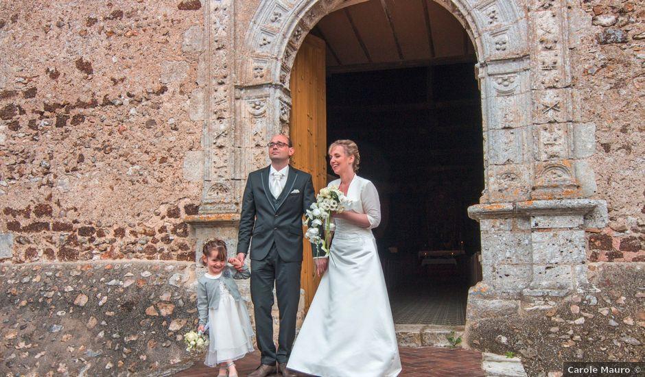 Le mariage de Jérôme et Pascaline à Yèvres, Eure-et-Loir