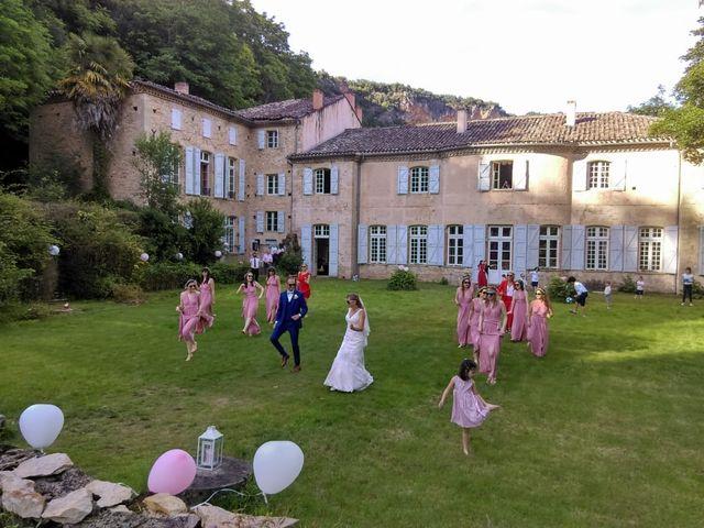 Le mariage de Oliver et Aude à Larroque , Tarn 6
