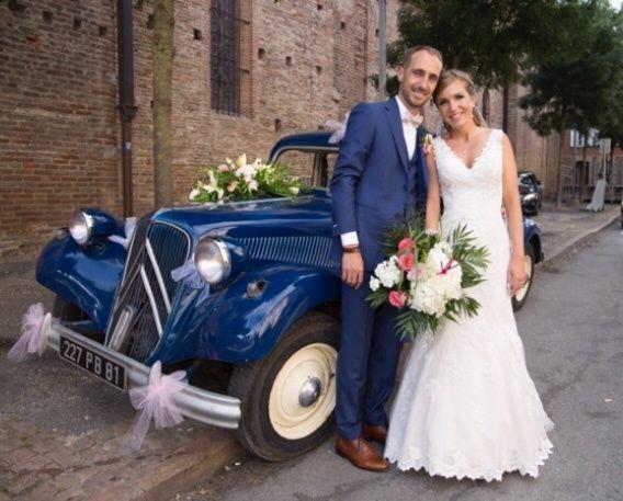 Le mariage de Oliver et Aude à Larroque , Tarn 13