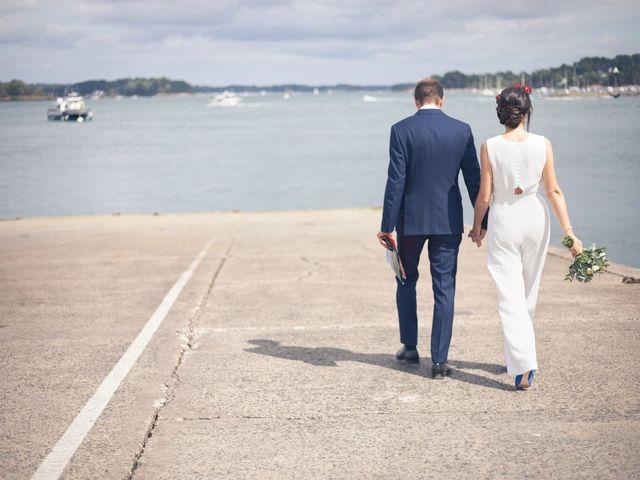Le mariage de Vincent et Camille à Sarzeau, Morbihan 17