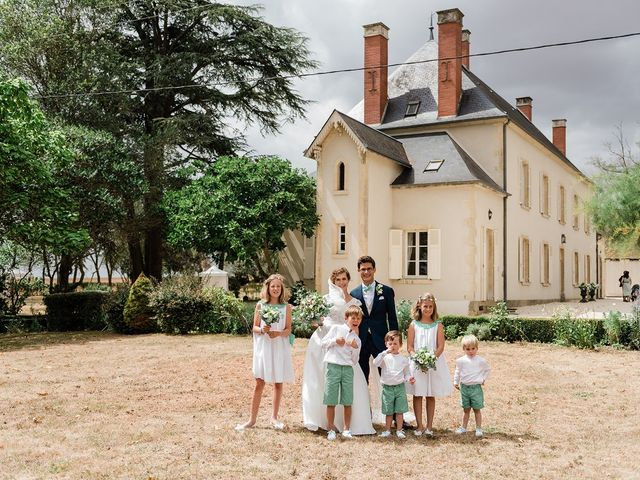 Le mariage de Amélie et Guillaume à Bengy-sur-Craon, Cher 17