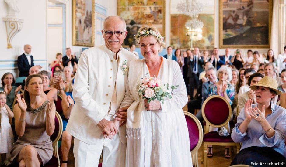 Le mariage de Gérard et Charlotte à Saint-Cloud, Hauts-de-Seine