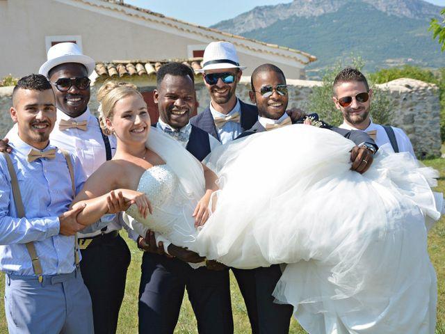 Le mariage de Mikaël et Cristelle à Noyers-sur-Jabron, Alpes-de-Haute-Provence 43