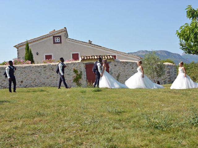 Le mariage de Mikaël et Cristelle à Noyers-sur-Jabron, Alpes-de-Haute-Provence 55
