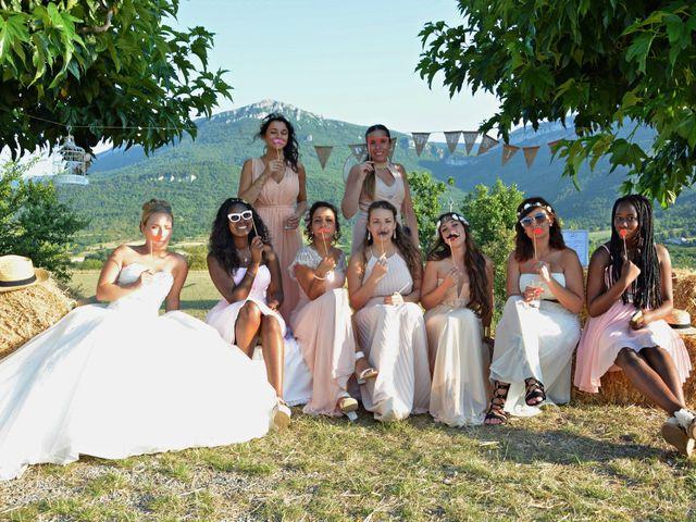 Le mariage de Mikaël et Cristelle à Noyers-sur-Jabron, Alpes-de-Haute-Provence 85