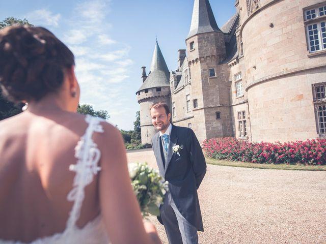 Le mariage de Henri et Claire-Léa à Saint-Marc-le-Blanc, Ille et Vilaine 6