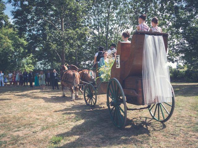Le mariage de Henri et Claire-Léa à Saint-Marc-le-Blanc, Ille et Vilaine 15