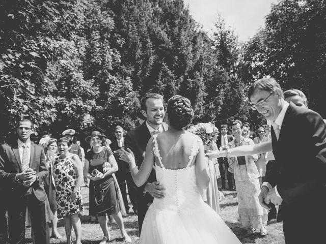 Le mariage de Henri et Claire-Léa à Saint-Marc-le-Blanc, Ille et Vilaine 17