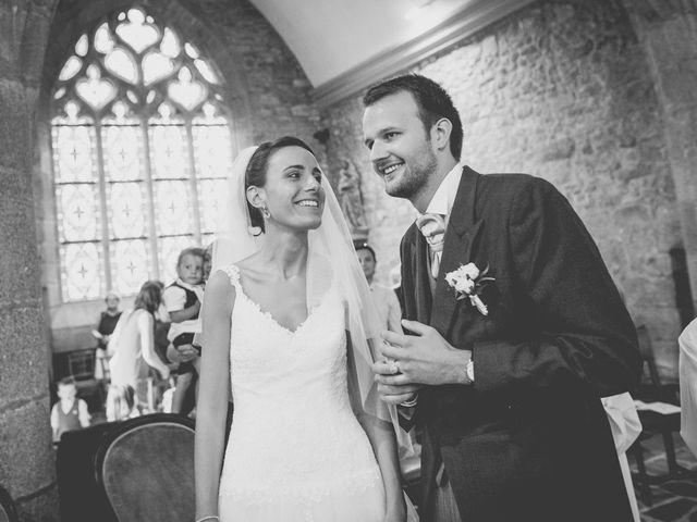 Le mariage de Henri et Claire-Léa à Saint-Marc-le-Blanc, Ille et Vilaine 56