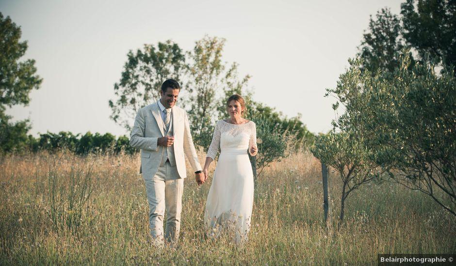 Le mariage de Didier et Clémence à Montagnac, Hérault