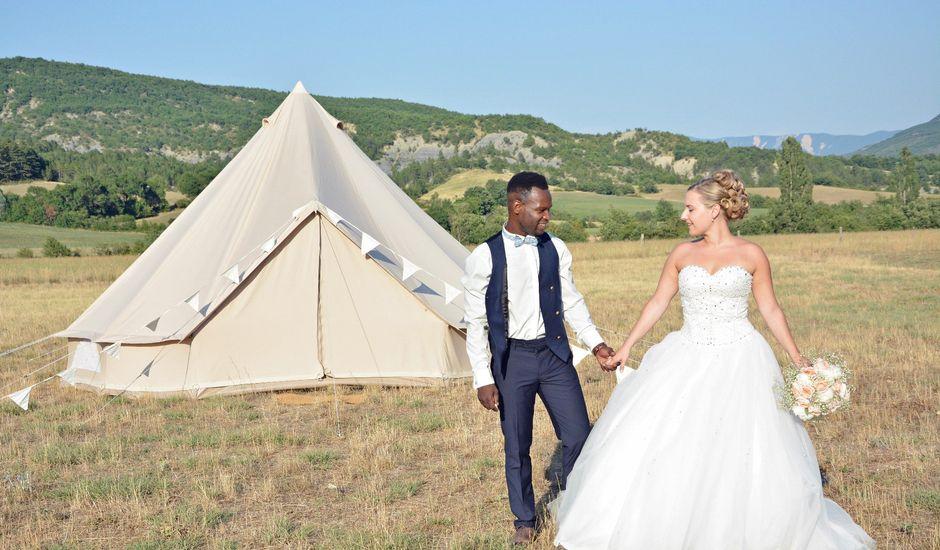 Le mariage de Mikaël et Cristelle à Noyers-sur-Jabron, Alpes-de-Haute-Provence