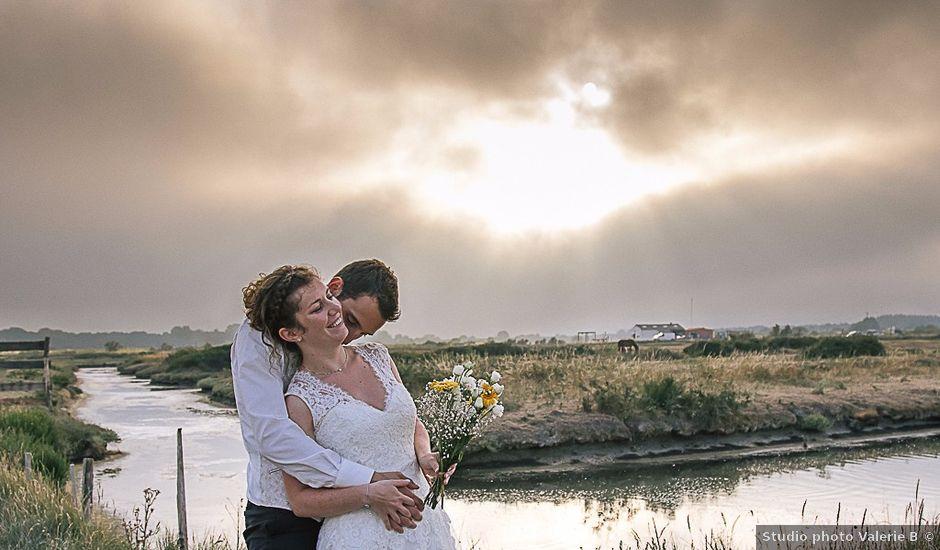 Le mariage de Flavien et Stéphanie à La Chaize-le-Vicomte, Vendée