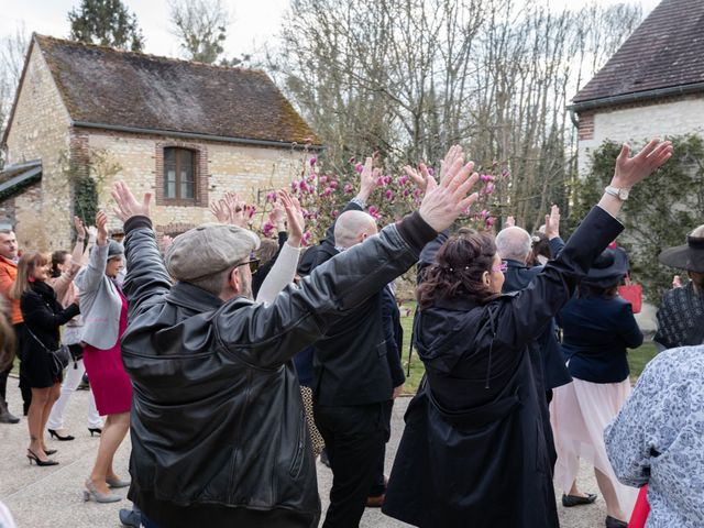 Le mariage de Vincent et Céline à Escolives-Sainte-Camille, Yonne 32