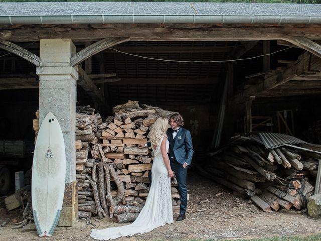 Le mariage de Adrien et Sabine à Sens-Beaujeu, Cher 45