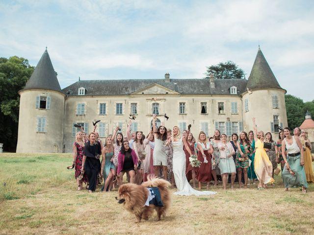 Le mariage de Adrien et Sabine à Sens-Beaujeu, Cher 90
