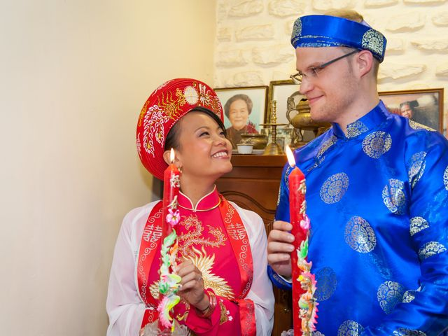 Le mariage de Ludovic et Iris à Orgeval, Yvelines 2