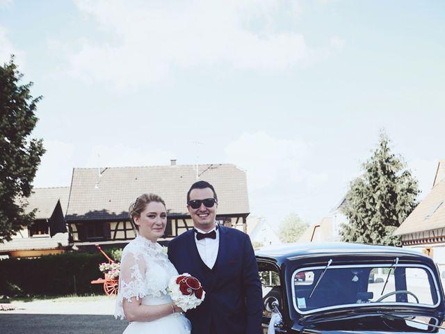 Le mariage de Thibaut et Sabine à Rohrwiller, Bas Rhin 13