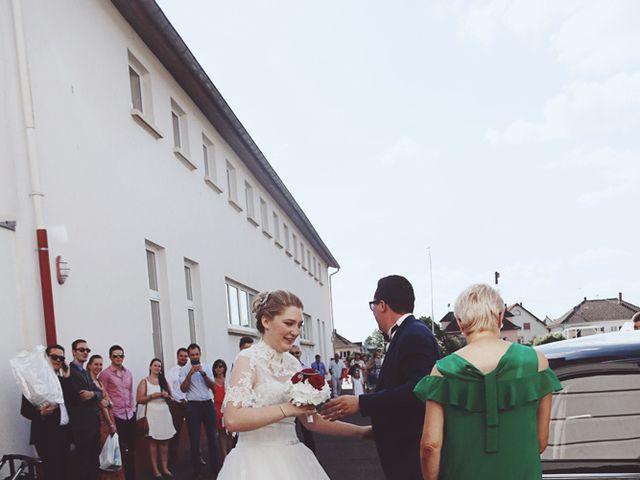 Le mariage de Thibaut et Sabine à Rohrwiller, Bas Rhin 16