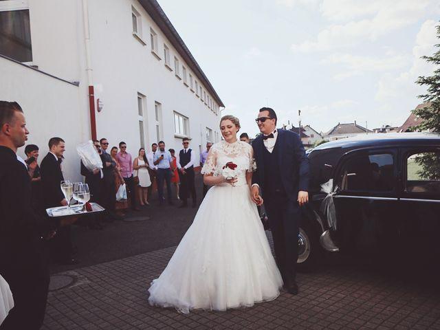 Le mariage de Thibaut et Sabine à Rohrwiller, Bas Rhin 17