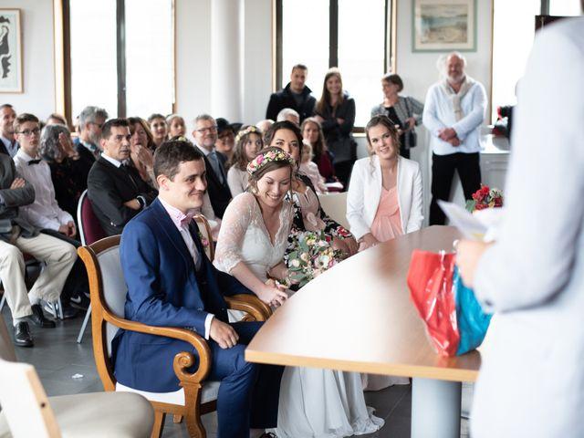 Le mariage de Xavier et Ophélie à Le Relecq-Kerhuon, Finistère 22