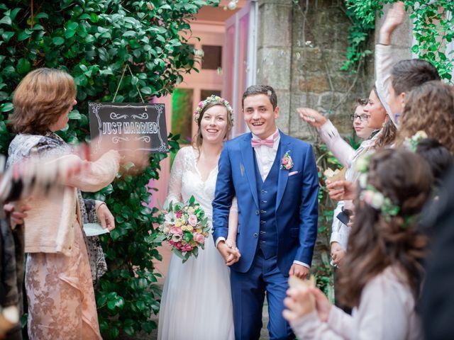 Le mariage de Xavier et Ophélie à Le Relecq-Kerhuon, Finistère 1