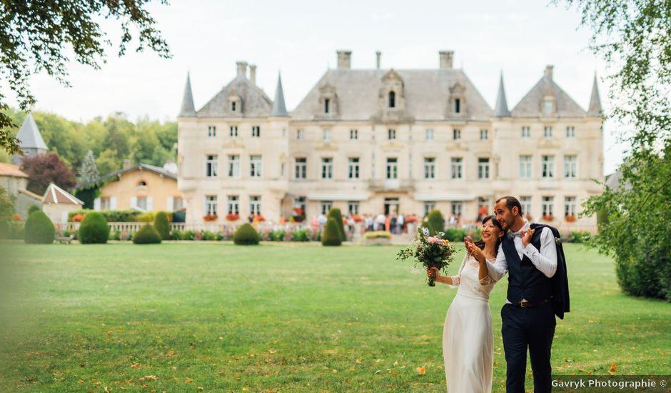 Le mariage de Guillaume et Anne à Les Monthairons, Meuse