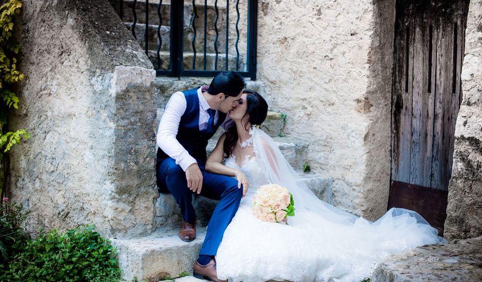 Le mariage de Christophe et Cynthia à Carros, Alpes-Maritimes