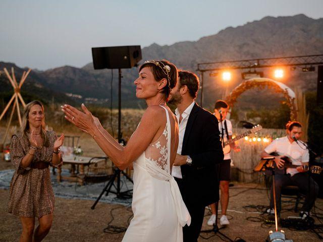 Le mariage de Arnaud et Emilie à Calenzana, Corse 123
