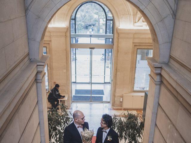 Le mariage de Many et Yves à Paris, Paris 4