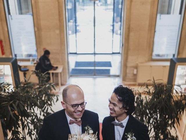 Le mariage de Many et Yves à Paris, Paris 6