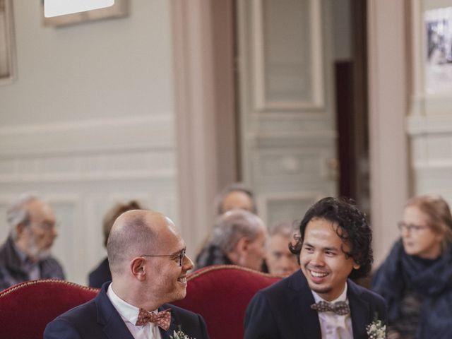 Le mariage de Many et Yves à Paris, Paris 13