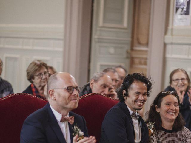Le mariage de Many et Yves à Paris, Paris 19