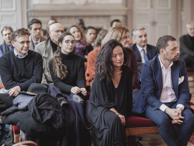 Le mariage de Many et Yves à Paris, Paris 20