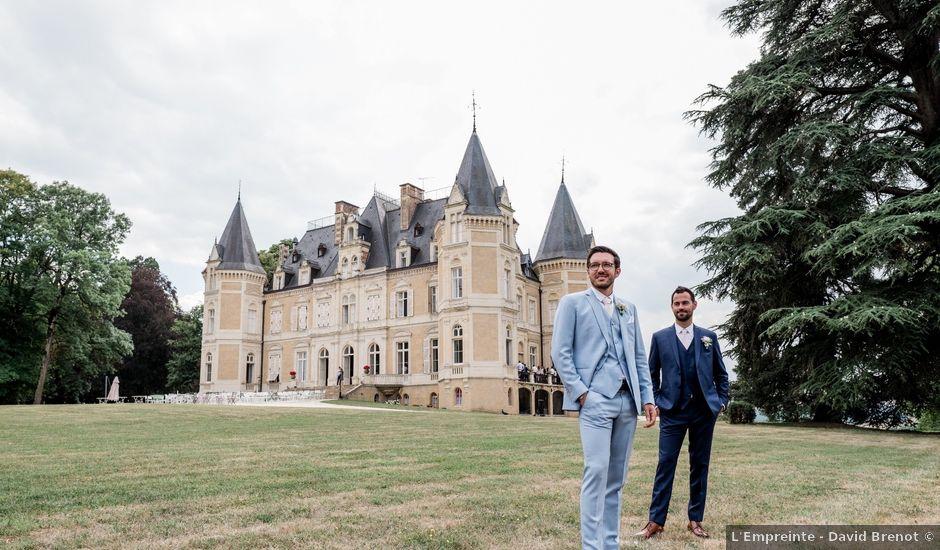 Le mariage de Raphaël et Charles à Saint-Benin-d'Azy, Nièvre