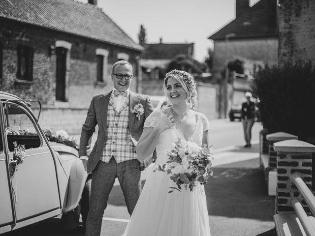 Le mariage de Thomas et Coralie à Beaumont-en-Cambrésis, Nord 1