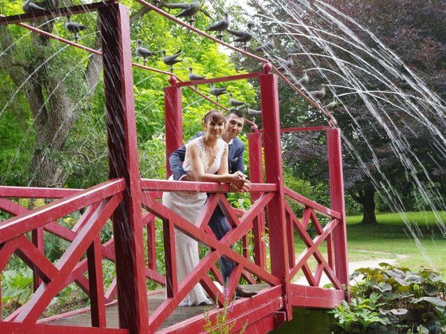 Le mariage de Romain et Ludivine à Montabard, Orne 1