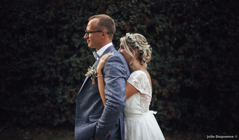 Le mariage de Thomas et Coralie à Beaumont-en-Cambrésis, Nord